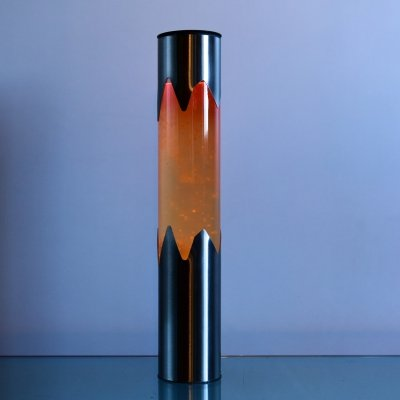 Lava lamp in glass & metal, France 1960s