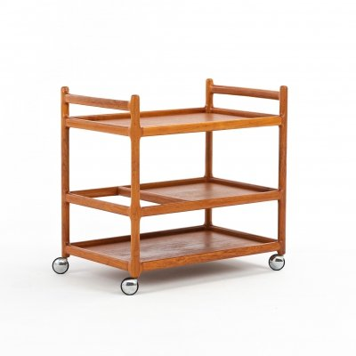 Serving trolley by Johannes Andersen for C. F. Christensen Silkeborg, 1960s