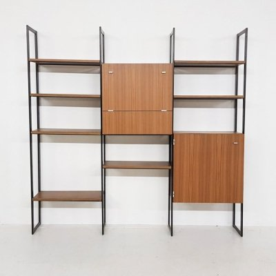 Wall unit by Pierre Guariche for Meurop, 1950s