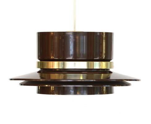 Pendant light by Carl Thore for Granhaga Metall, Sweden 1970s