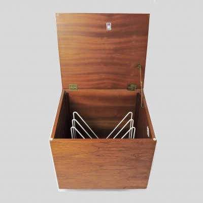 Teak Record Cabinet by Elliots of Newbury, 1960s
