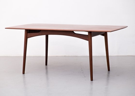 Dining table in afromosia by Dalescraft, 1960s