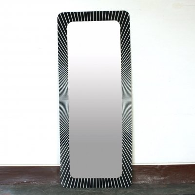 1970s glam vintage mirror by Ceriotti