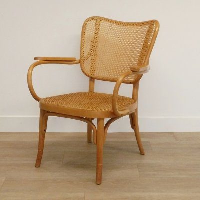 Chair No. A 821 F by Eberhard Krauss for Thonet, 1930s
