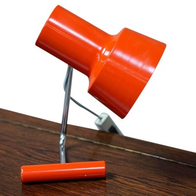 Red Table lamp by Josef Hůrka for Napako, 1960s