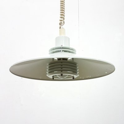 Space age design pendant lamp by AB Belid, Sweden 1970s