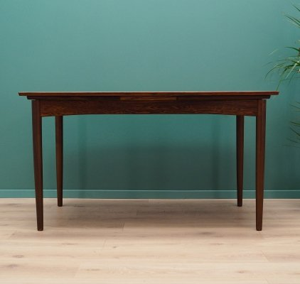 Rosewood dining table by Skovby Møbelfabrik, 1970s