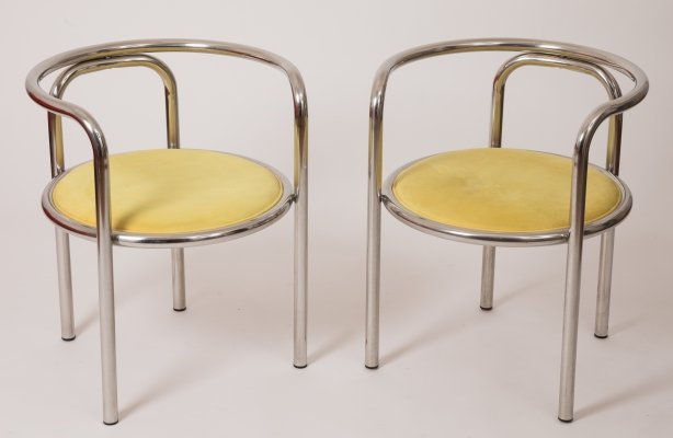 Pair of Locus Solus Chairs by Gae Aulenti for Poltronova, 1963