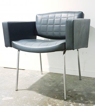 Vintage Pierre Guariche 'Conseil' armchair for Meurop, 1960