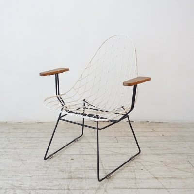 Vintage Wire chair, 1950s
