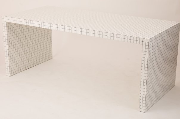Quaderna Desk by Superstudio for Zanotta