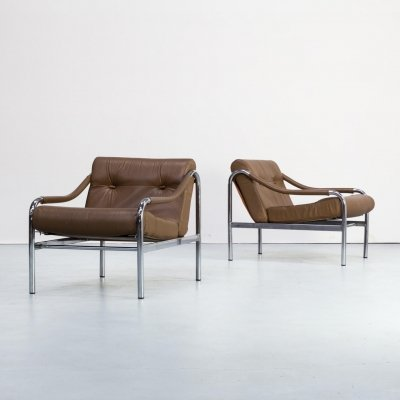 Pair of Tim Bates 'beta' chairs for Pieff, 1980s