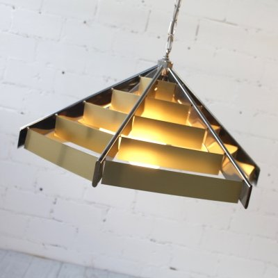Rare Pendant Lamp by Gaetano Sciolari for Sciolari