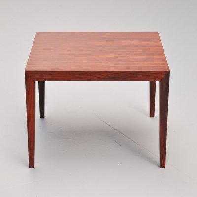 Severin Hansen for Haslev rosewood coffee table, 1955