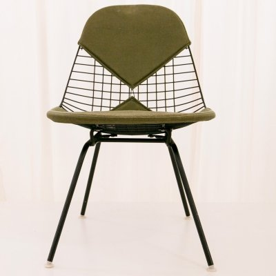 MKX-2 wire side chair by Charles Eames for Herman Miller, circa 1954