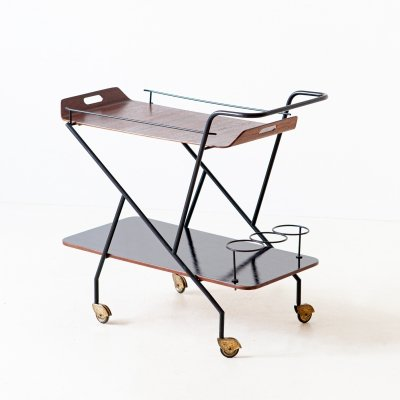 Italian Design Modern Bar Cart, 1950s