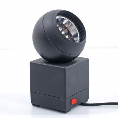 Large 70s OSRAM table lamp by Schlagheck Schultes