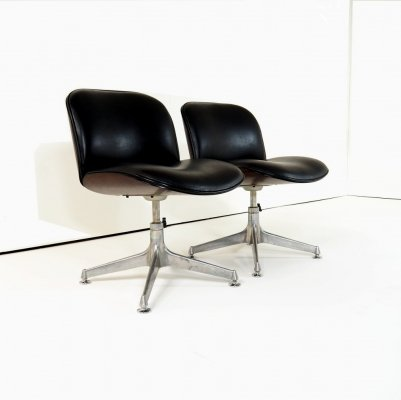 1970's desk chairs by Ico & Luisa Parisi for M.I.M