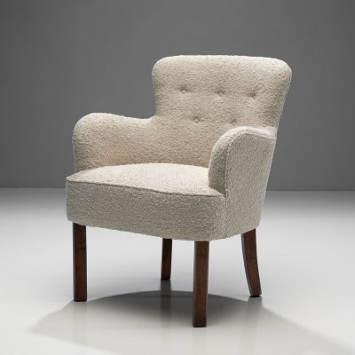 Danish Cabinetmaker Small Chair, Denmark 1940s