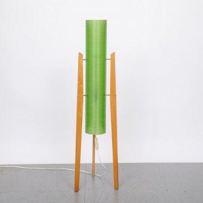 Fiber Glass Rocket Floor Lamp, 1960's