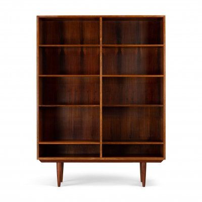Danish rosewood bookcase by Brouer Møbelfabrik, 1960s