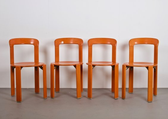 Stackable Model 33 Chairs by Bruno Rey for Dietiker, Switzerland 1970s