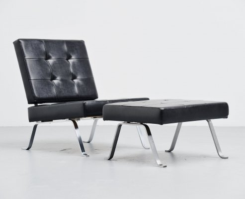 Hein Salomonson for AP Originals lounge chair set, the Netherlands 1960