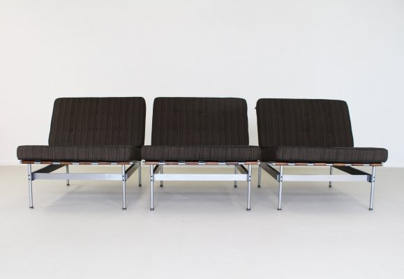 Set of 3 'Model 416' easy chairs by Kho Liang Ie for Artifort