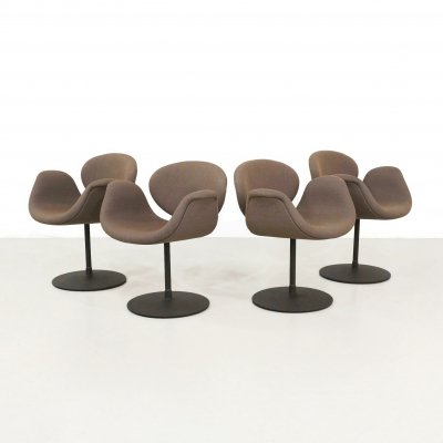 Set of 4 Little Tulip dining chairs by Pierre Paulin for Artifort, 1990s