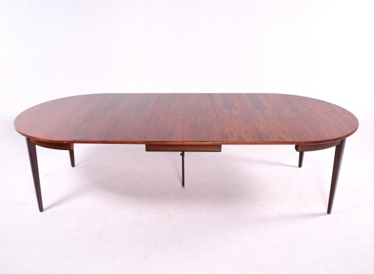 Rosewood Dining Table by Gunni Omann for Omann Jun Mobelfabrik