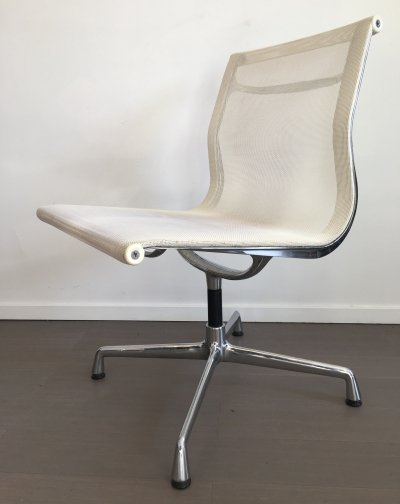 Set of 6 EA105 office chairs by Charles & Ray Eames for Vitra, 1990s