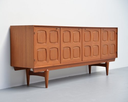 Rastad & Relling graphic sideboard by Gustav Bahus, 1960