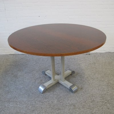 Vintage toes table by Christoffel Hoffmann for Gispen, 1960s