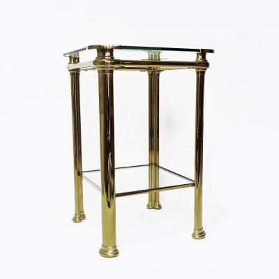 Italian Brass Table by Mara, 1970s