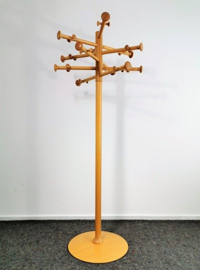 Solid Beech Coat Stand by Nanna Ditzel, 1990s