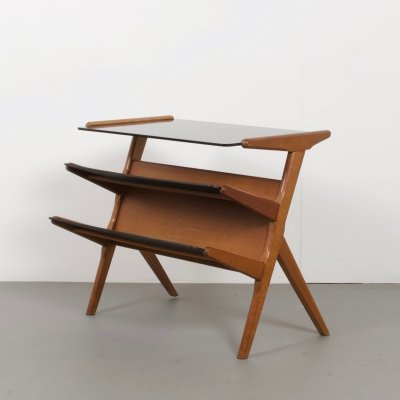 Vintage Dutch Side Table by Pastoe, 1960s