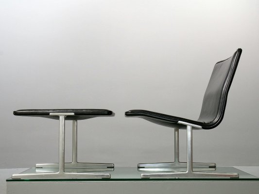 601/ 602 RZ 60 Chair + Footstool by Dieter Rams for Vitsœ & Zapf, 1961