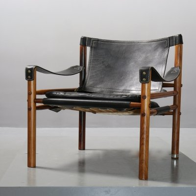 2 x Safari Armchair 'Scirocco' by Arne Norell, 1966