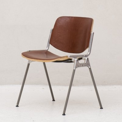 Side chair model 'DSC Axis 106' by Giancarlo Piretti for Castelli, Italy 1960's