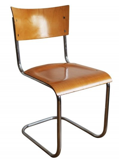 Modernist Tubular Chair by Kovona NP, 1960s