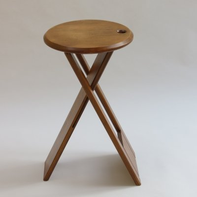 Vintage Folding Suzy Stool by Adrian Reed for Princes Design Works, 1980s