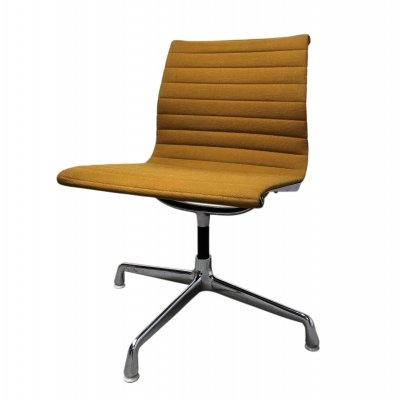 Vintage Yellow EA108 Eames desk chair for Herman Miller, 1970