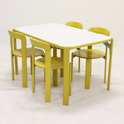 Dining set by Bruno Rey for Kusch & Co Switzerland, 1970s