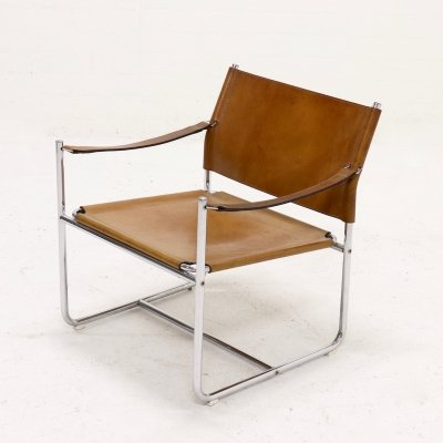 Mid Century Karin Mobring 'Amiral' Armchair by Ikea, Sweden 1970s