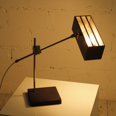 Architect's desk lamp by Max Bietenholz for Bünte und Remmler