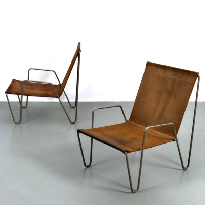 Set of 2 Bachelor chairs by Verner Panton, 1950s