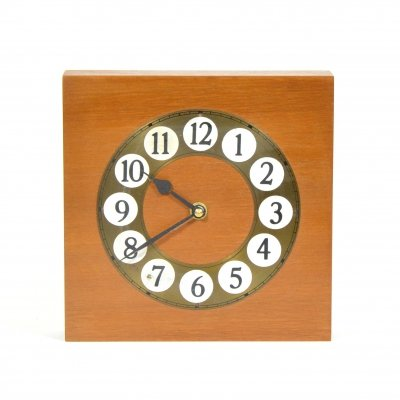 1980s Wooden wall clock