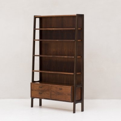 Highboard / book case by Poul Volther, Danish design 1960's