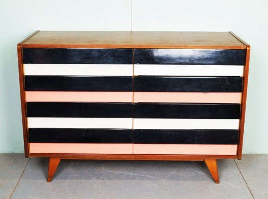 Vintage chest of drawers by Jiří Jiroutek, 1960s