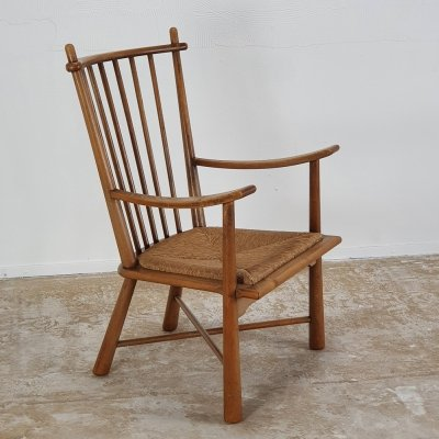 Very rare arm chair by Bas van Pelt, 1940s